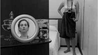 La obra ganadora de Esther Elena PA, titulada 'Ciudad: dónde lo íntimo se vuelve público y lo público íntimo'.