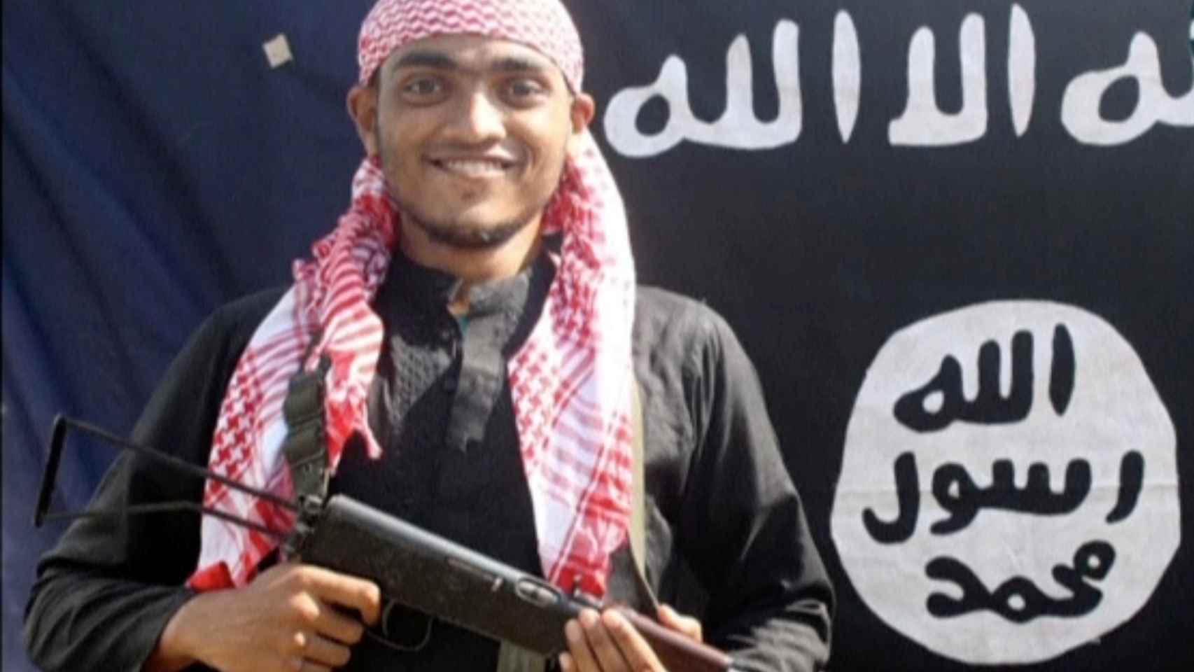 Captura de un vídeo difundido por el Estado Islámico.