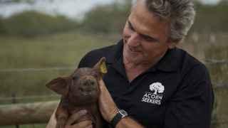 Los españoles Manuel y Sergio han creado Acornseeker, una empresa en Texas que produce jamón serrano.