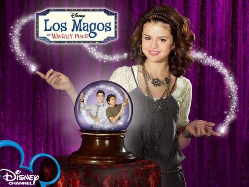Selena en la serie que la catapultó como rostro Disney.