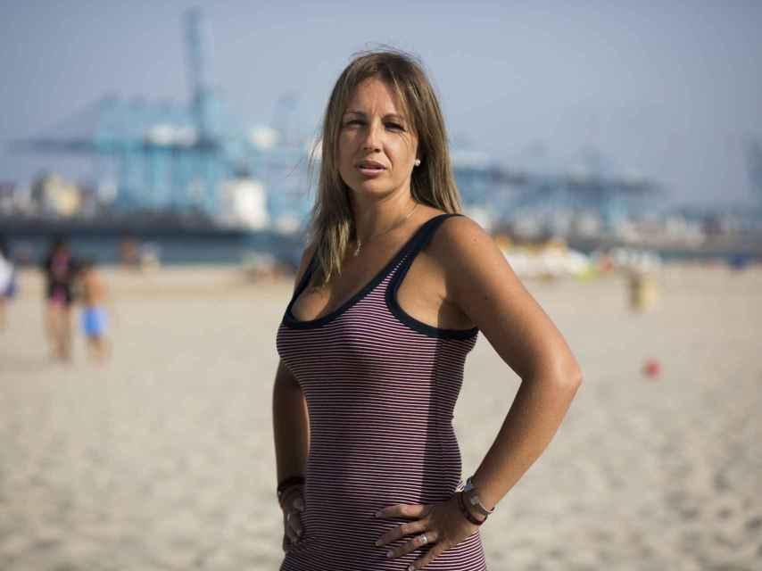 Raquel Saavedra es la presidenta de la plataforma Mujeres estibadoras en Algeciras.