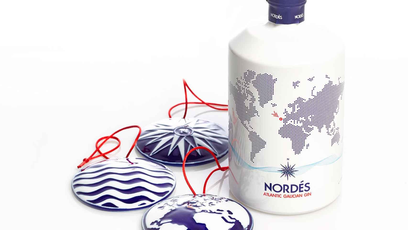 La Ginebra Nordés está destilada con Albariño.