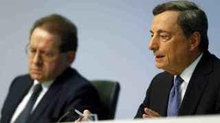 El presidente y el vicepresidente del BCE