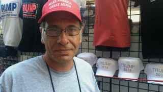 Glen Wilcoxson está convencido de que Trump ganará las elecciones