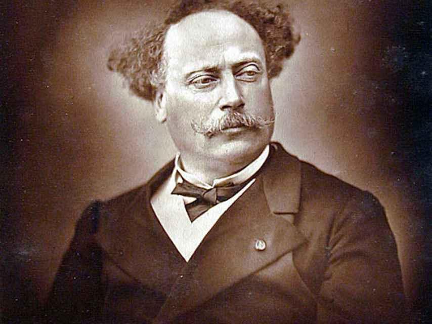 Retrato de Alejandro Dumas hijo.