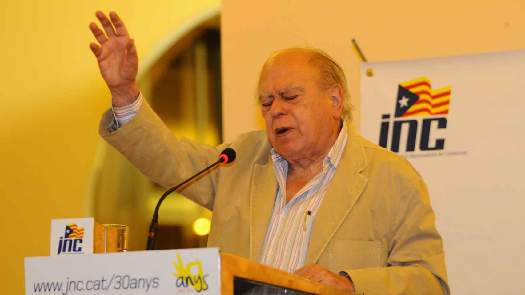 Jordi Pujol. en el mitin Nit dels 30 anys de JNC/Flickr