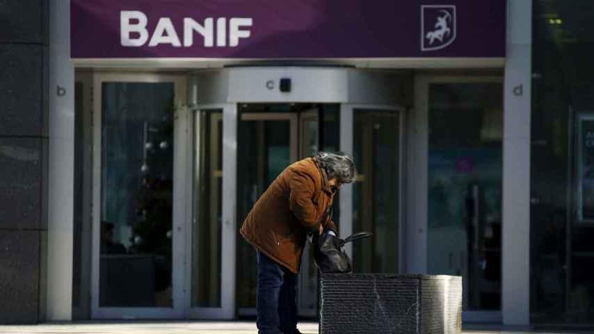 Oficinas centrales en Lisboa de Banif.