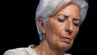 Christine Lagarde durante una conferencia en Washington.