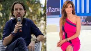 Pablo Iglesias y Mariló Montero