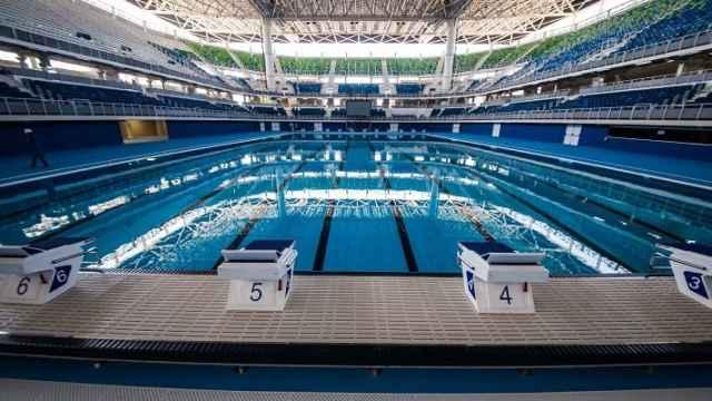 Estadio acuático de Río.