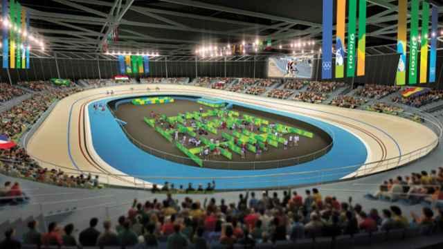 Velódromo Olímpico de Río de Janeiro.