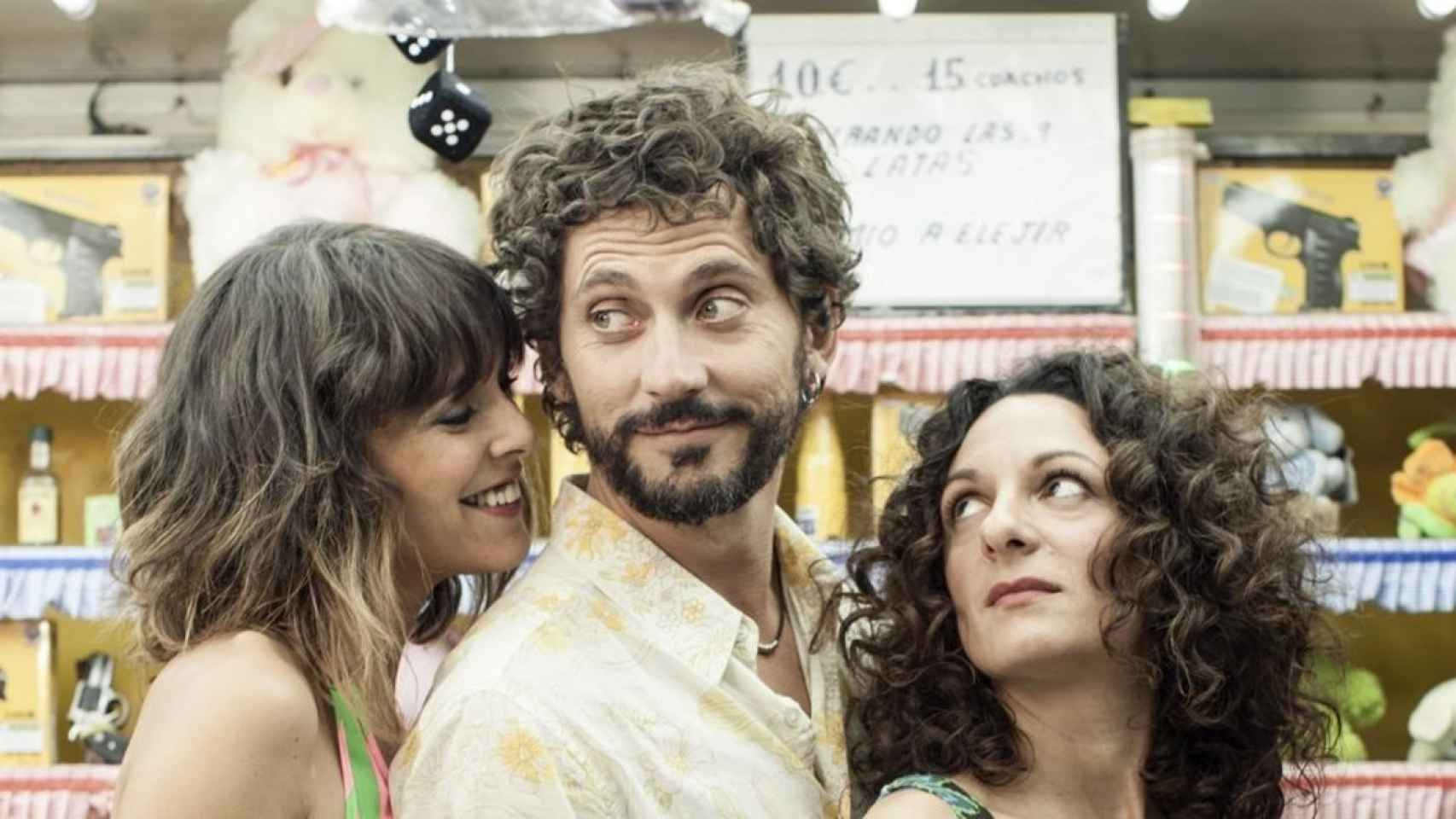 Belén Cuesta, Paco León y Ana Katz en Kiki.