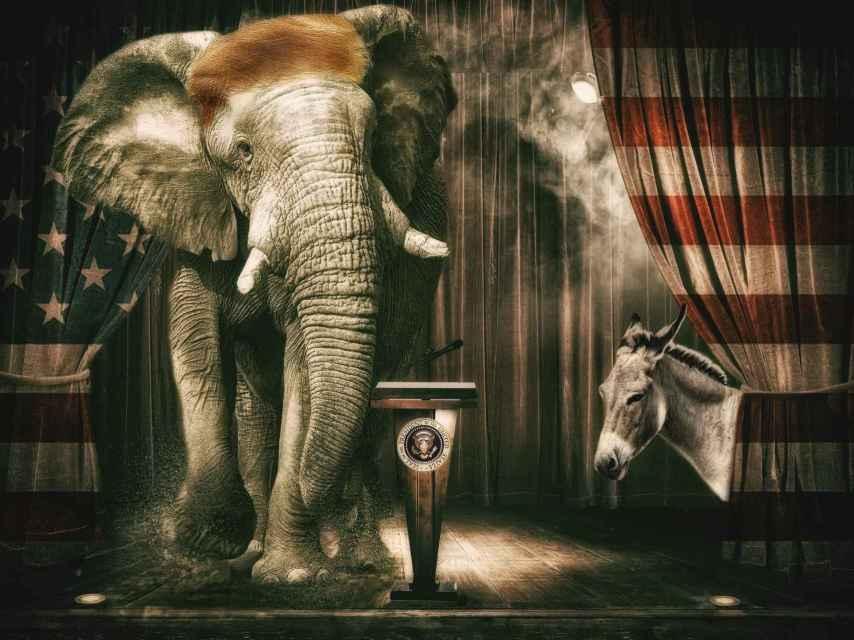 Repúblicanos y demócratas: dos partidos, dos mundos