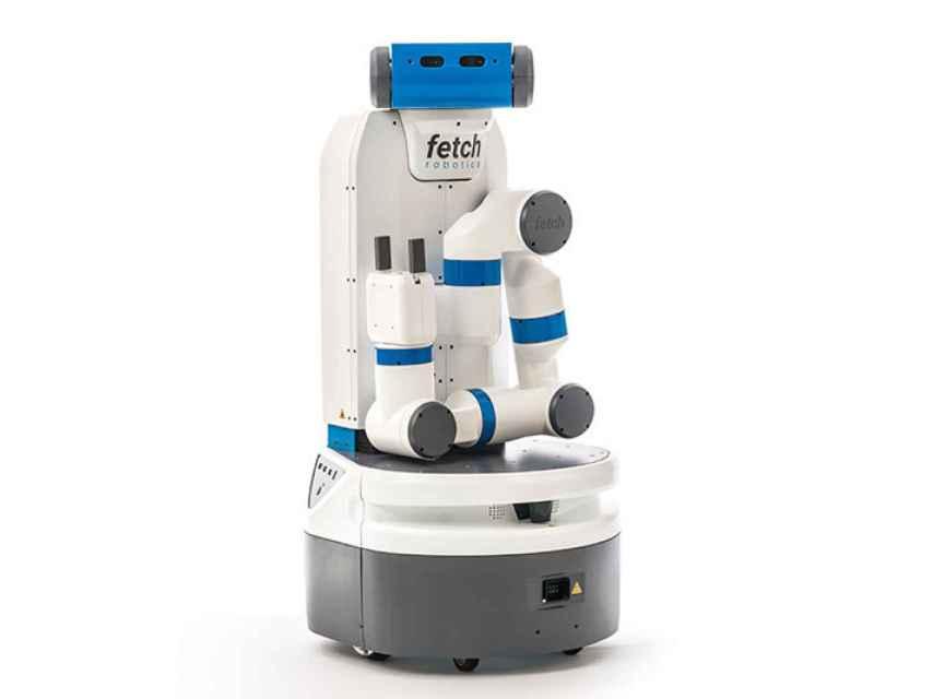 Uno de los robots fabricados por Fetch Robotics