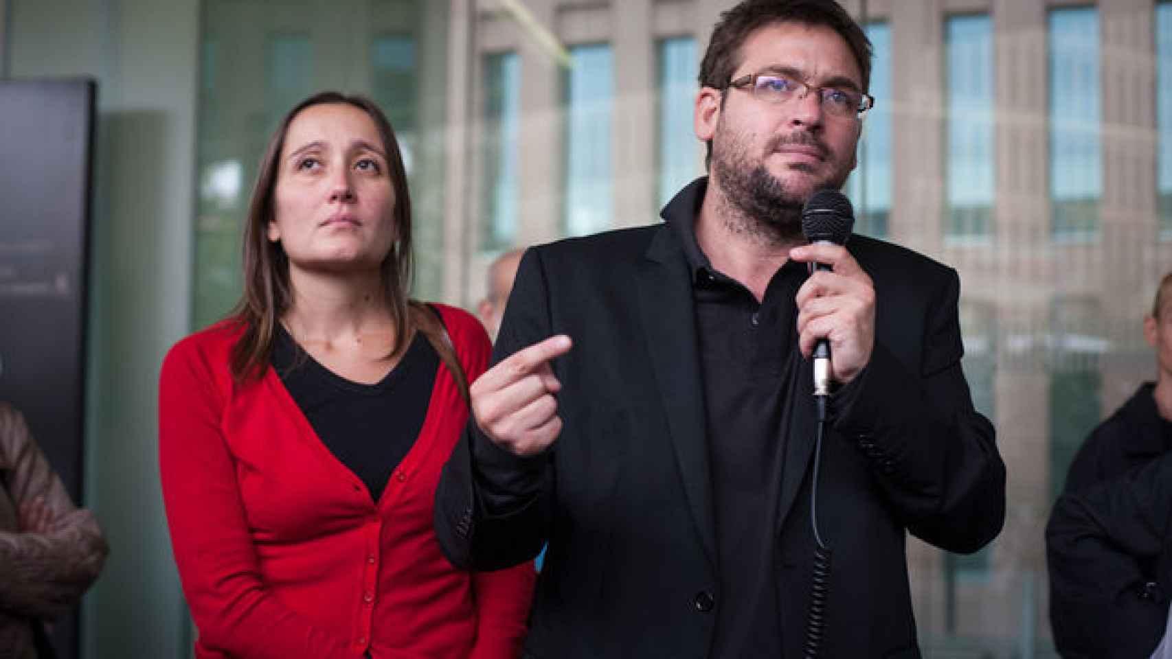 Albano Dante y Marta Sibina, fundadores de Cafe amb llet