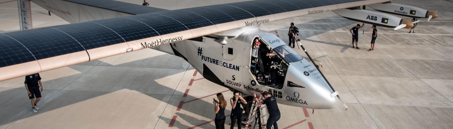 solar impulse 2 avion
