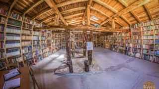 La biblioteca de Quintanalara.