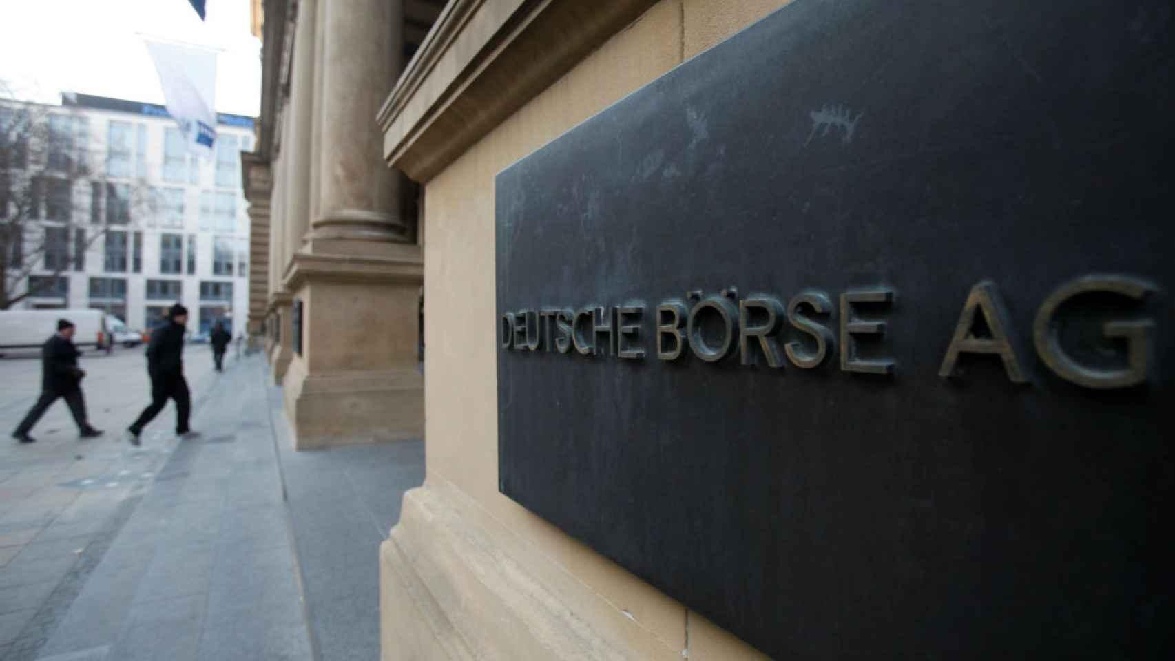 La firma germana Deutsche Börse.
