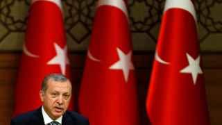 Erdogan, durante una comparecencia ante los medios estos días.