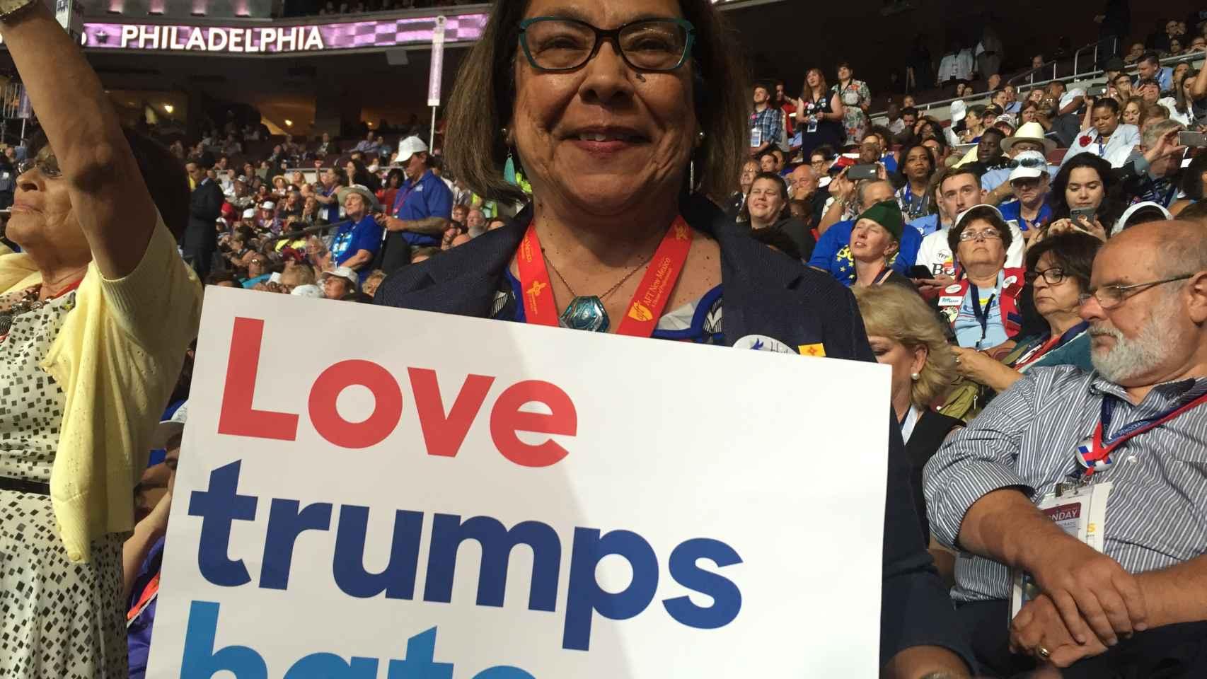 Patricia, es de madre mexicana y padre norteamericano