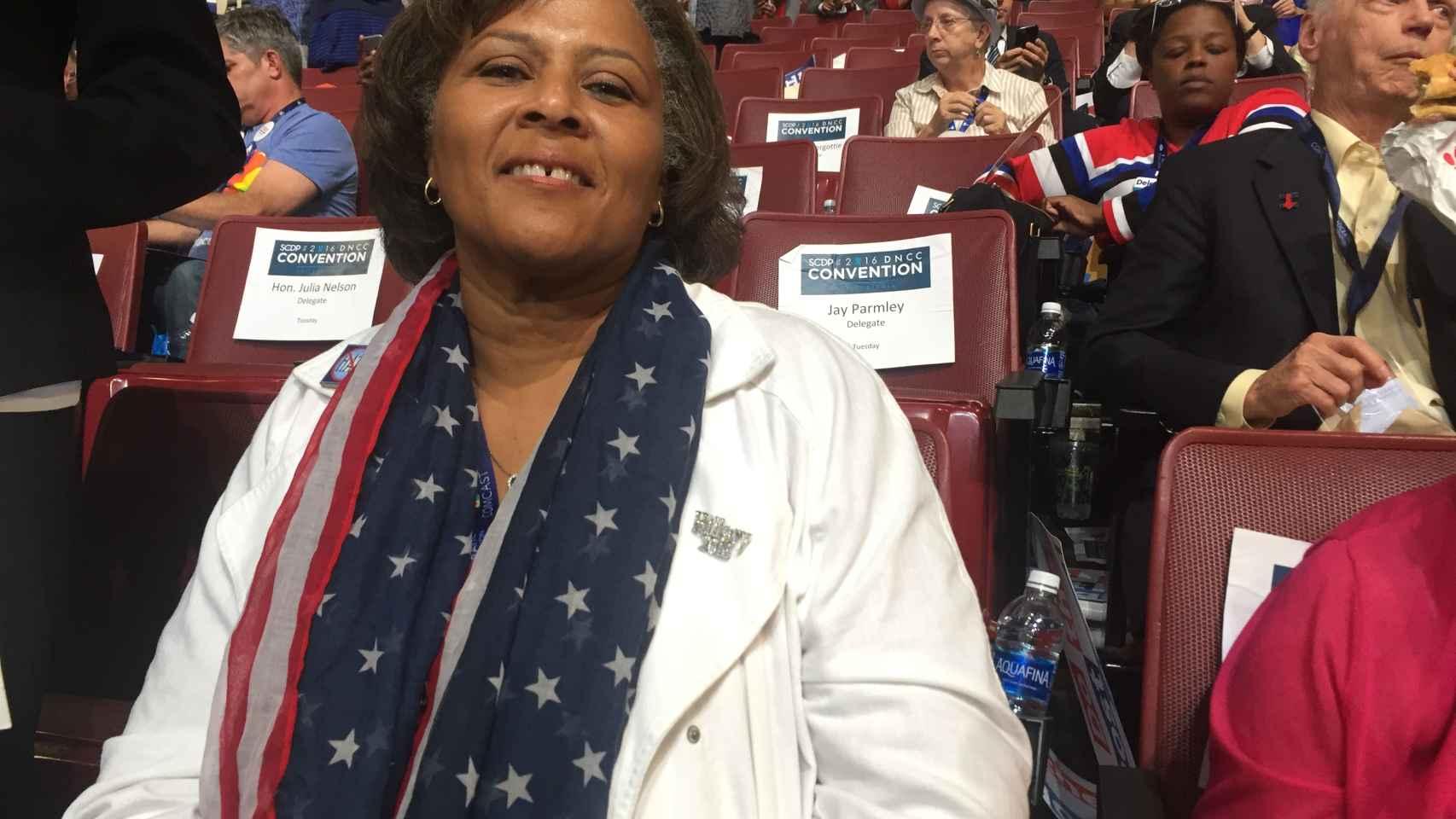 Margie, afroamericana de Louisiana