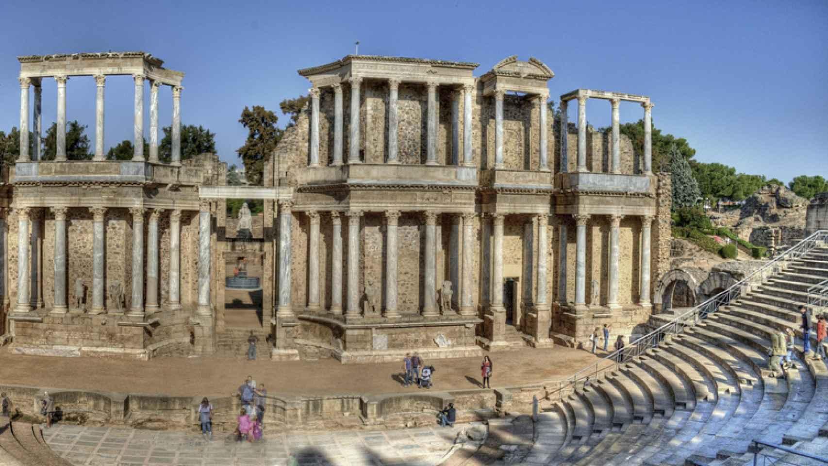 Teatro romano de Mérida/ ängel M. Felicísimo/ Flickr