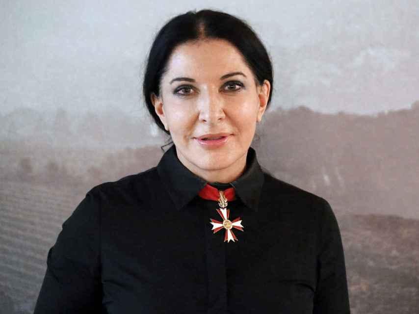 La artista performance Marina Abramović.
