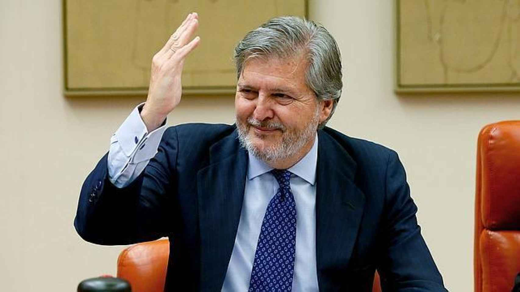 Méndez de Vigo, en una rueda de prensa