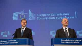 Moscovici y Dombrovskis estaban divididos sobre la multa a España