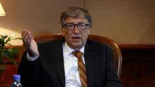 Bill Gates, el hombre más rico del mundo.