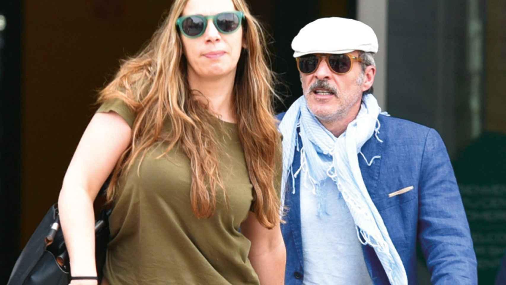 Guillén Cuervo y Mercedes, la mujer que le ha devuelto la fe en el amor.