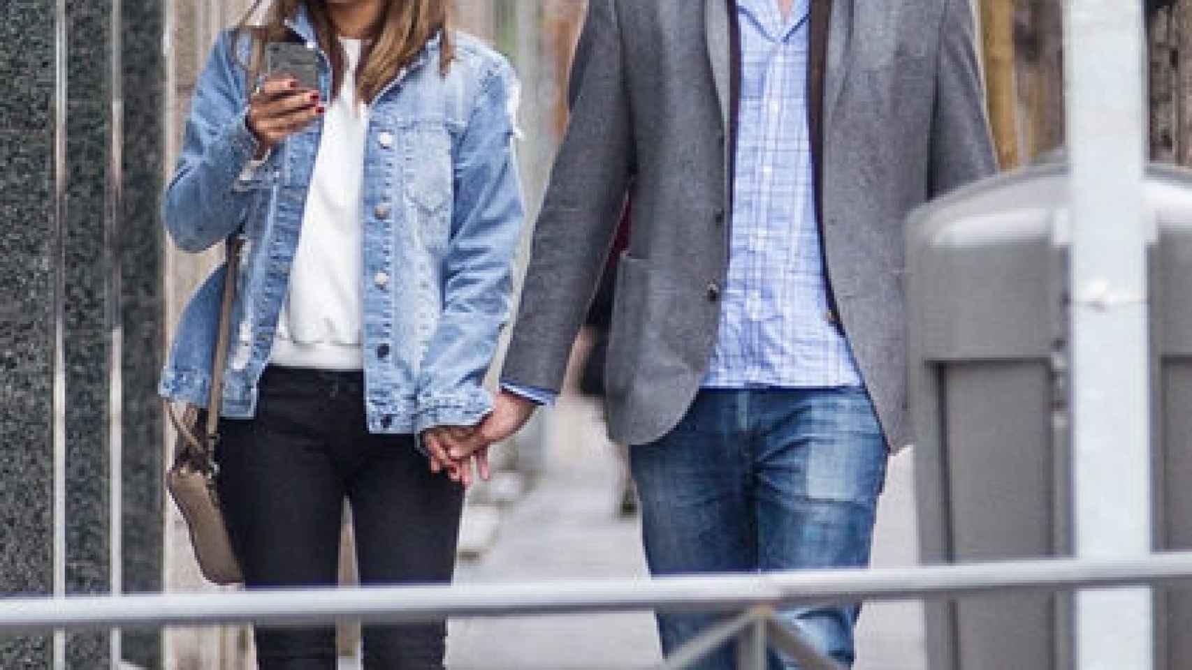 Elena Tablada y Javier Ungría pasean su amor.