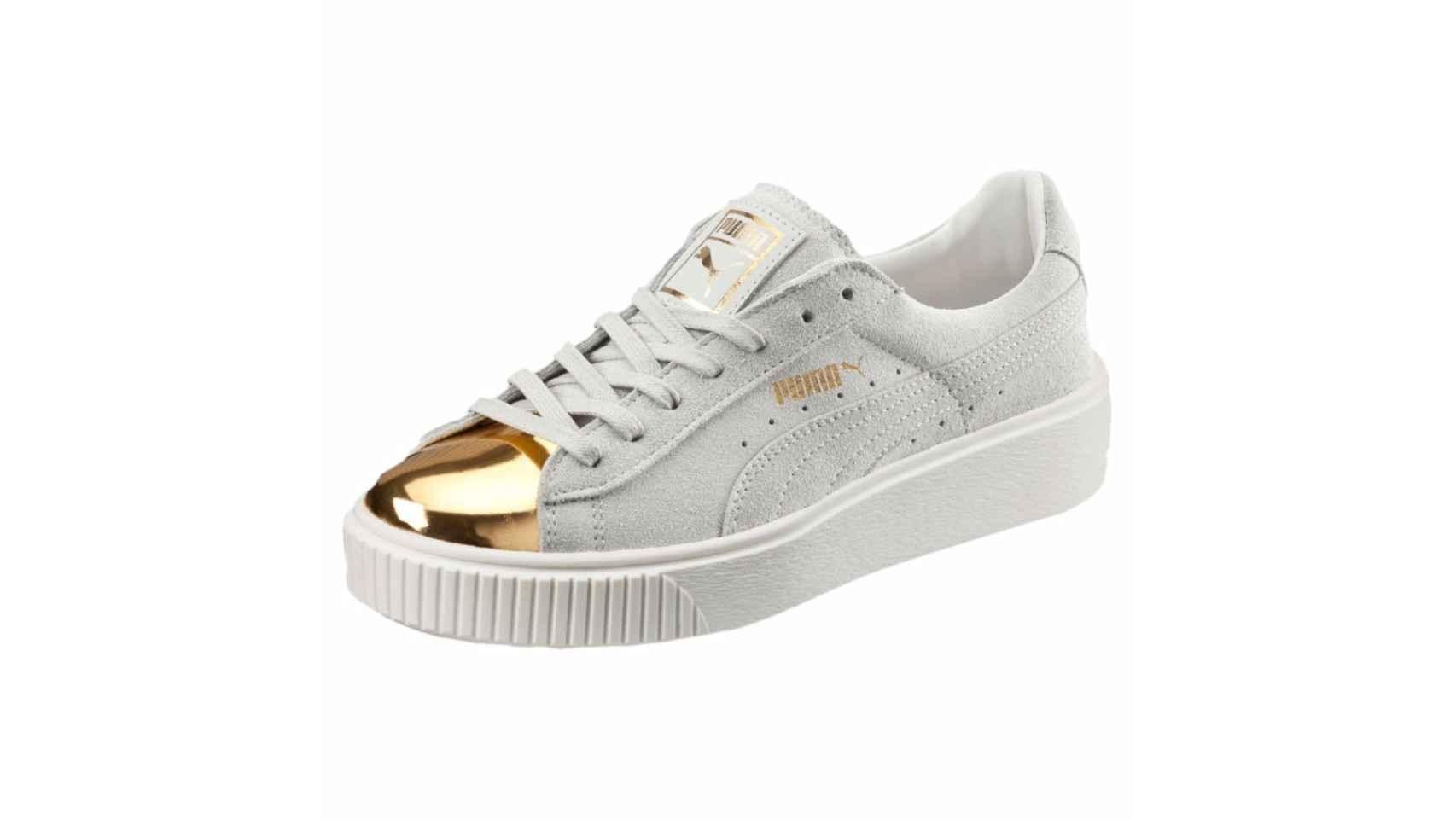 Zapatillas de Puma (100,00 euros).