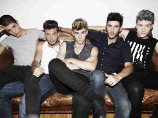 La boy band Auryn.