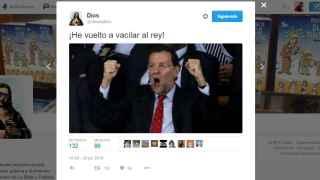 Twitter se toma con humor las ambiguas declaraciones del presidente del PP.