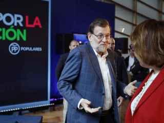 Rajoy en un acto del PP en materia educativa