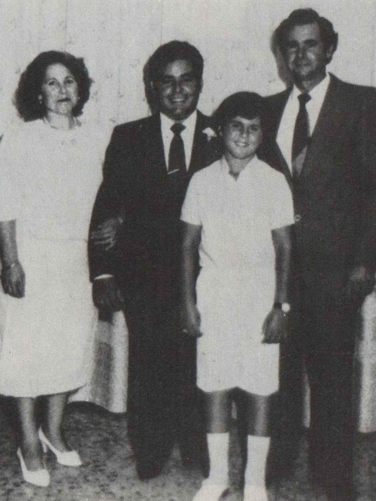 La familia de Juan Pedro.