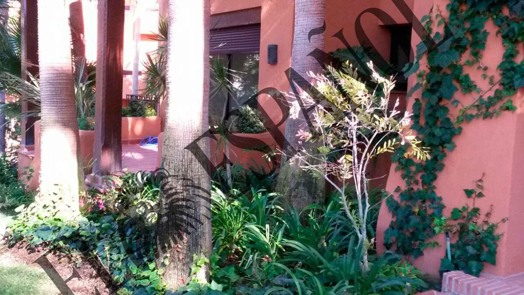Imagen de la vivienda controlada por la familia Paesa.
