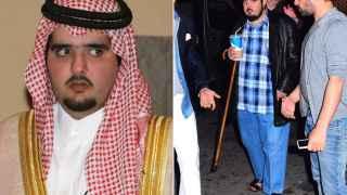 El príncipe Abdulazis, hijo del Rey Salman, llega a Marbella
