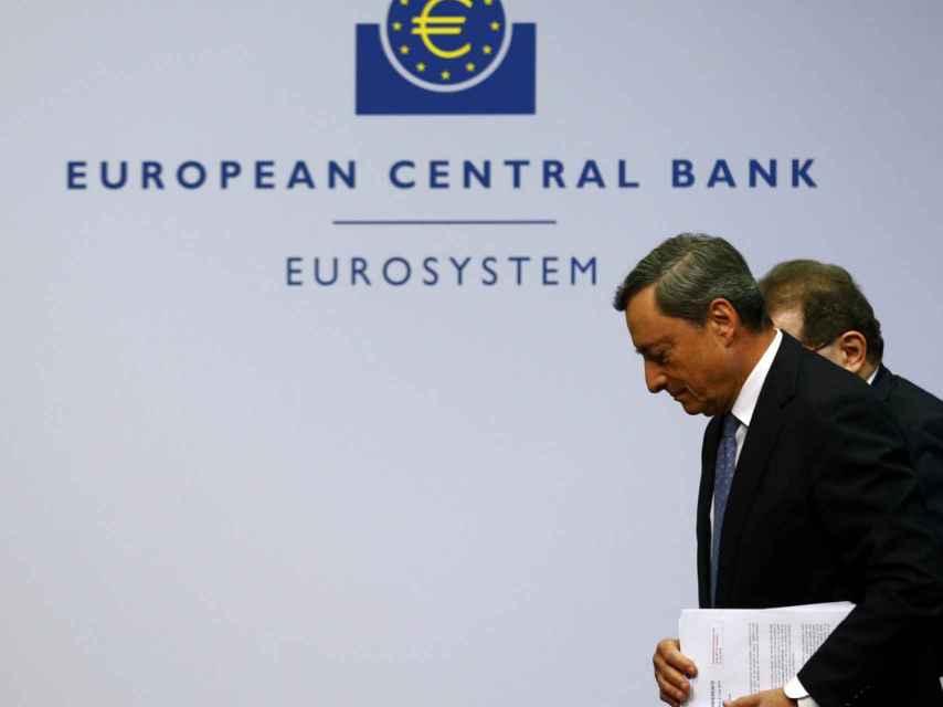 Draghi, presidente del supervisor bancario europeo.