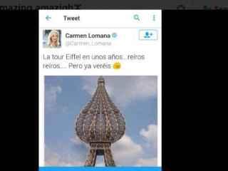 Así era la desafortunada 'broma' de Carmen Lomana.