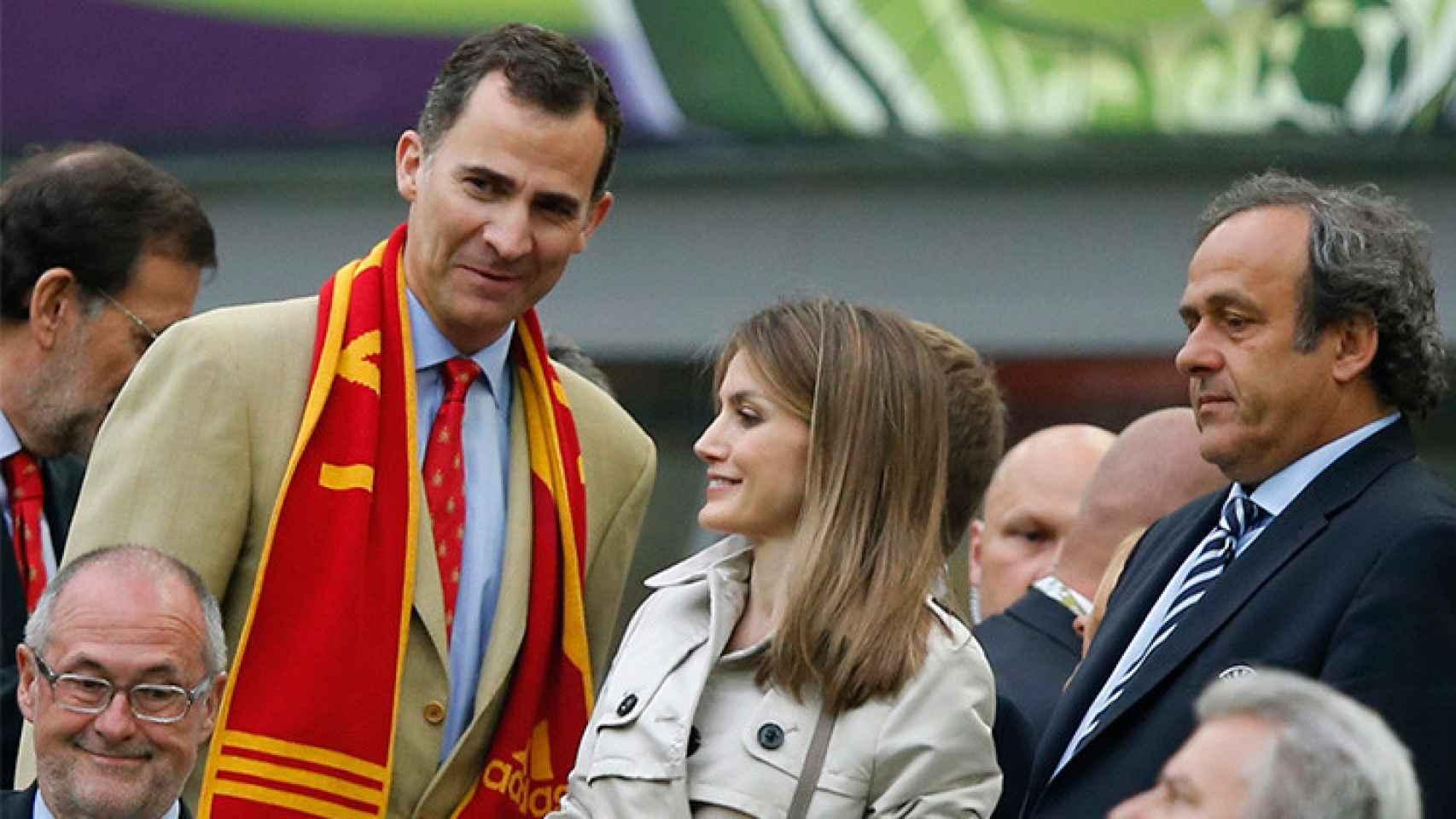 El Rey y la Reina siempre han apoyado el deporte español