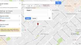 Edita, personaliza y añade información a Google Maps