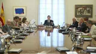 El Consejo de Ministros, reunido con Rajoy
