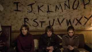 Escena de la serie 'Stranger Things'.
