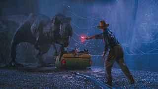 Escena de Parque Jurásico, estrenada en 1993