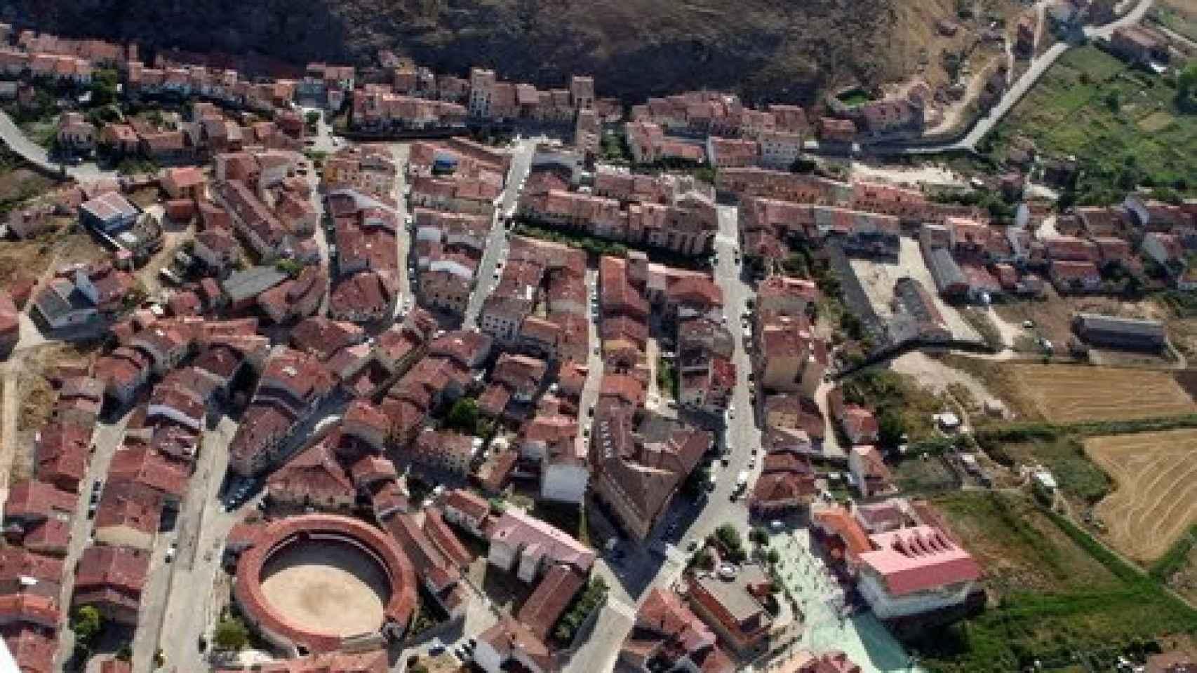 Vista aérea de Huerta del Rey