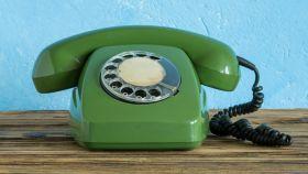 Qué fue del teléfono dial.