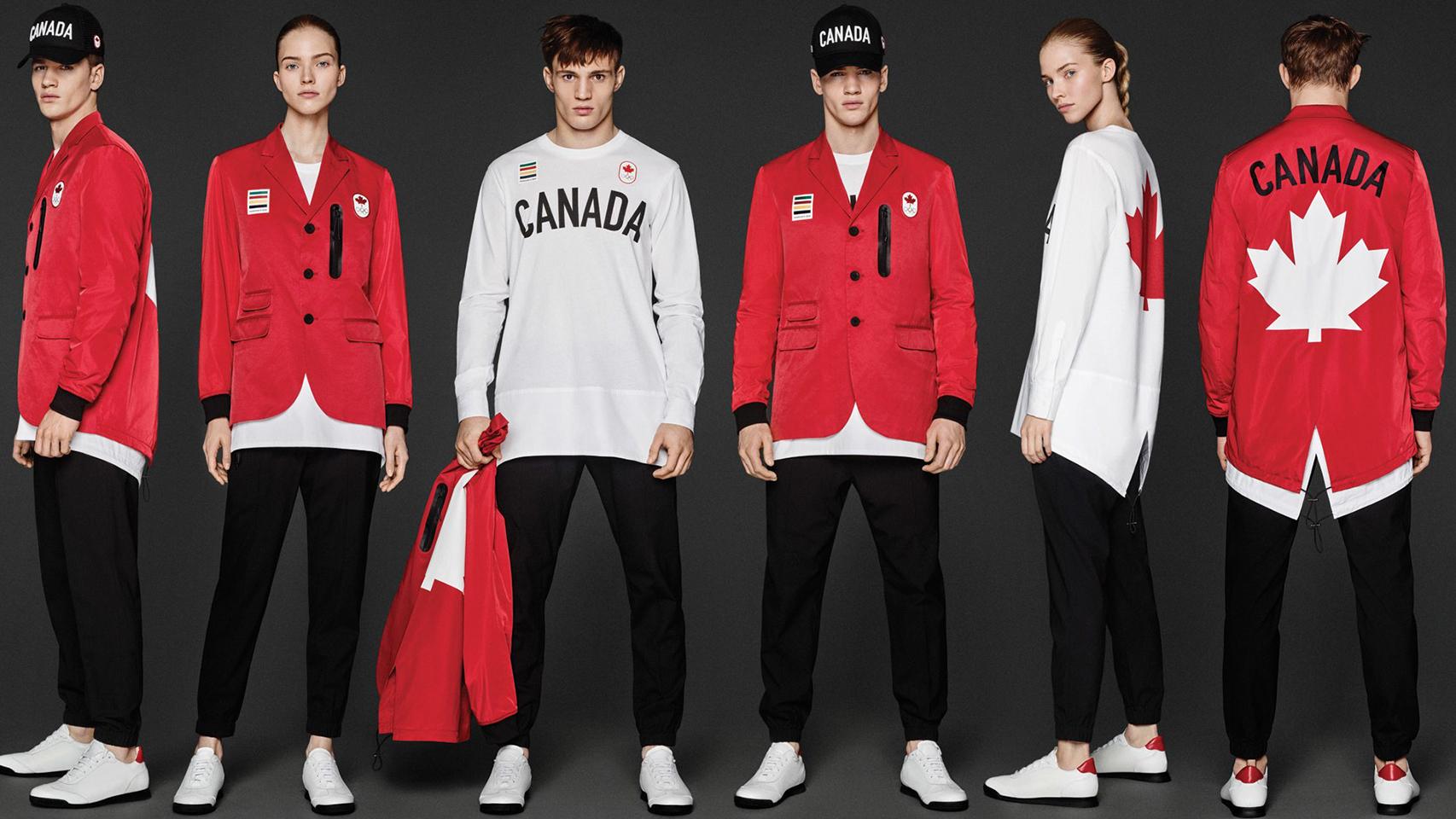 Dsqueared2 diseña la equipación de Canadá para los JJOO de Río 2016.