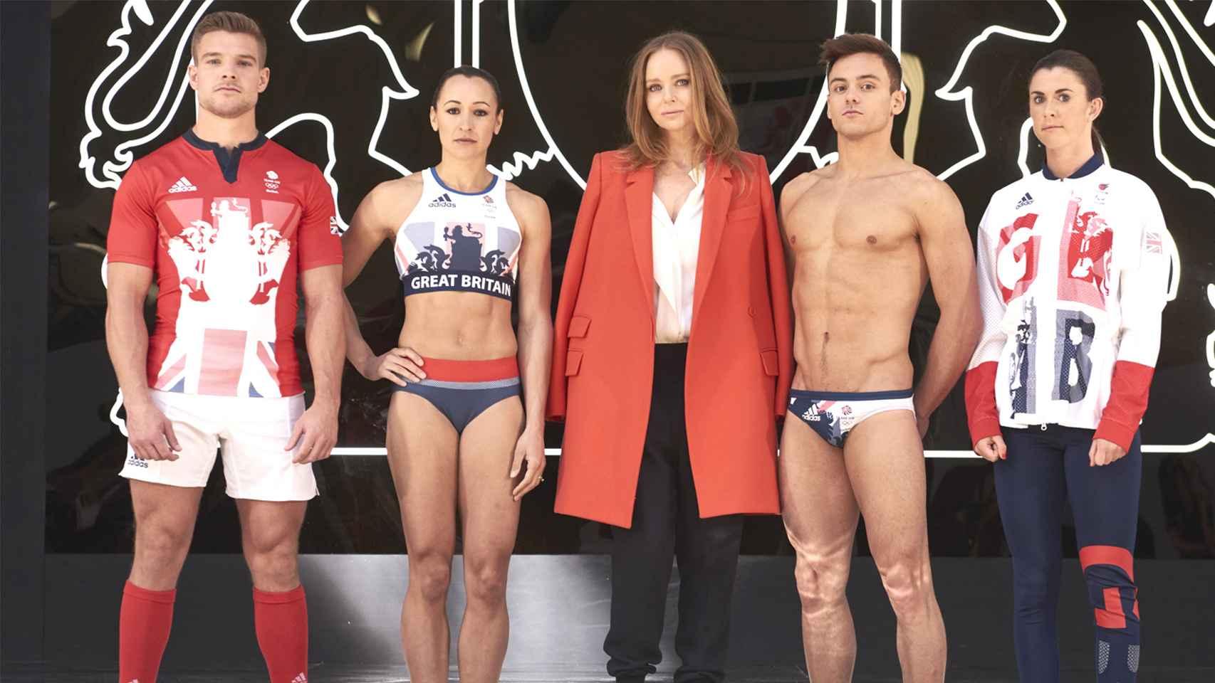 Stella McCartney diseña la equipación de Gran Bretaña para los JJOO de Río 2016.